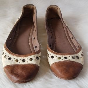 Frye Leather Flat Shoes